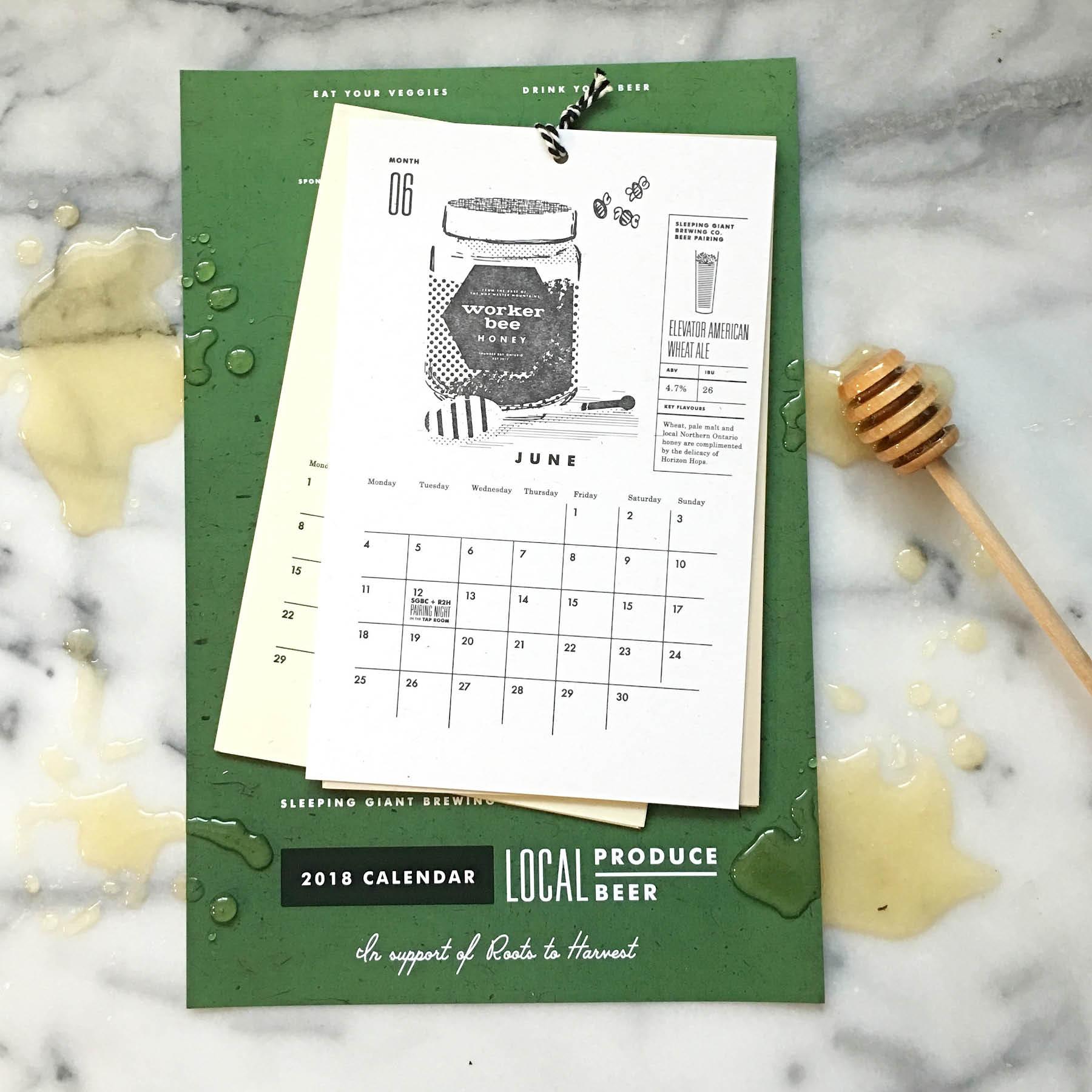 Heather Cranston-Lesniewski Roots Calendar social media10